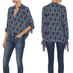 10 Crosby Derek Lam Silk Top
